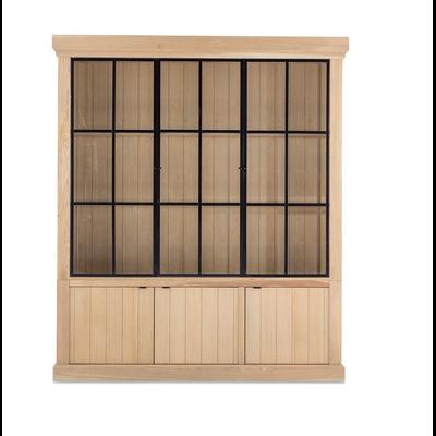 Bibliothèque IRON JASON III 3 Portes CHENE ALTERE L 192 cm