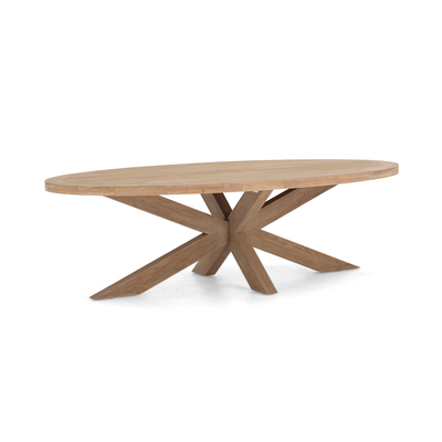 Table FORINO II SMALL Chêne Naturel Ø 210 cm