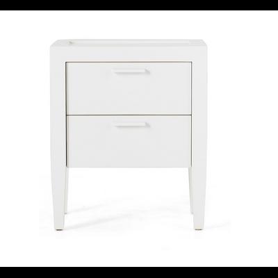 Table de Nuit CAPE COD II Blanc  L 50 cm
