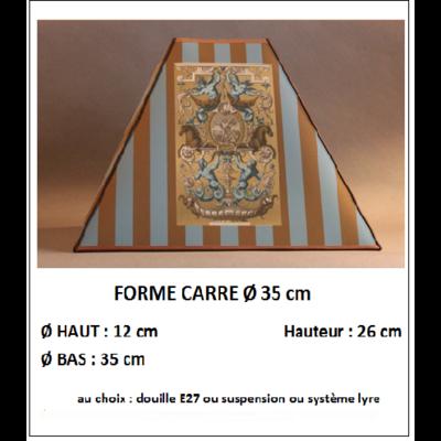 "Forme ""Carré Ø 35 cm"""