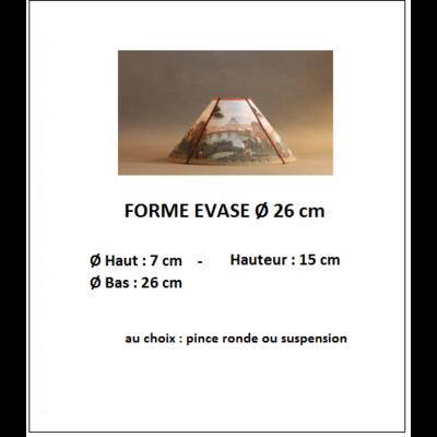 """Forme """"Evasé Ø 26 cm"""""""