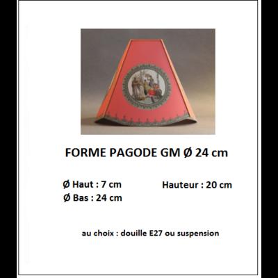 "Forme ""Pagode GM Ø 24 cm"""