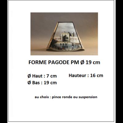 "Forme ""Pagode PM Ø 19 cm"""