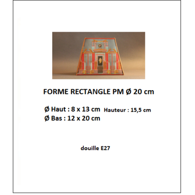 "Forme ""Rectangle Ø 20 cm"""