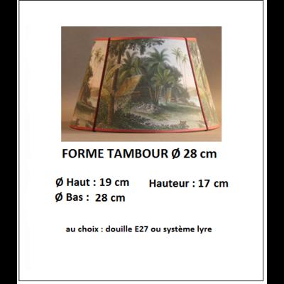 "Forme ""Tambour Ø 28 cm"""