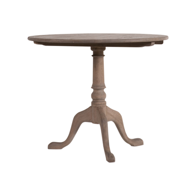 Table Edwards Weathered Oak 90Cm