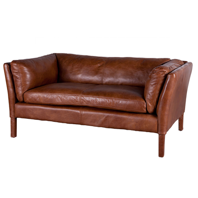 SOFA CUIR BELLAMY 2 SEATS  L 152 cm