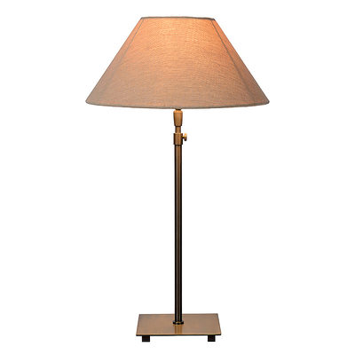 Lampe de Table JULIA Bronze Brossé (Abat-Jour inclus)