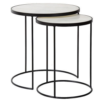 Table d'Appoint TOWNSVIL S/2 Ø45 cm