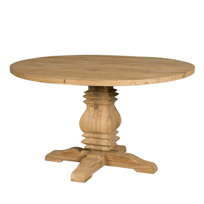 Table Ronde Rustique TECK Ø 140 cm