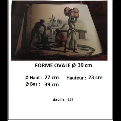 "Forme ""OVALE TGM Ø 39 cm"""