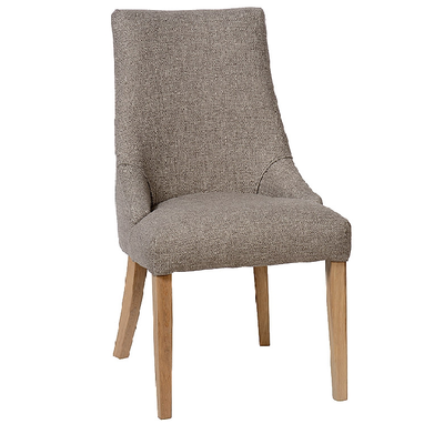 Chaise LAURA avec Tissu