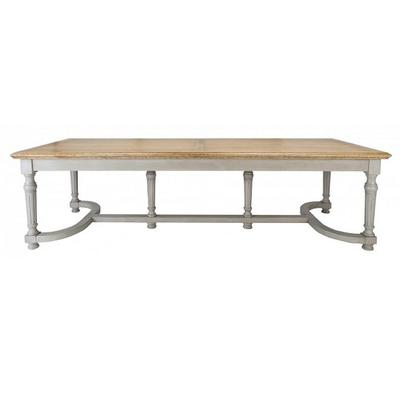 Table Rectangulaire FAMILLE 6 Pieds L 280 x P 100 x H 78 cm