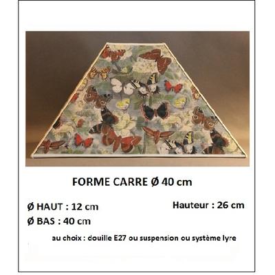 "Forme ""Carré Ø 40 cm"""