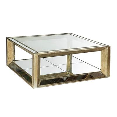 Table Basse MIROIR L 122 x 122 x H 47 cm