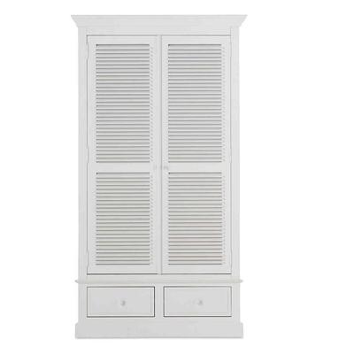 Garderobe MARIE Blanc, 2 Portes