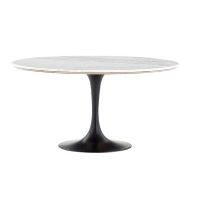 Table Ronde ABOAH Marbre Blanc Ø 145 cm
