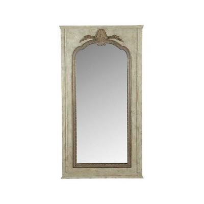 Miroir Mouluré En Bois L 190 x H 103 cm