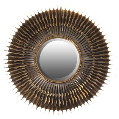 Miroir Mille Flèches Métal Ø 91 cm