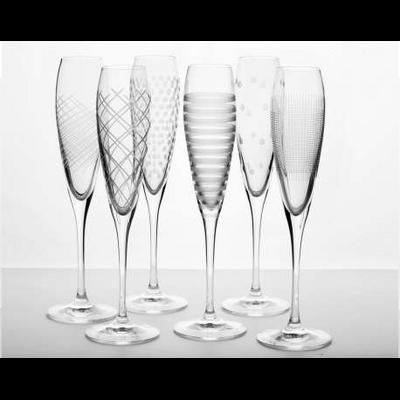 6 Fûtes Champagne Assorties OSLO