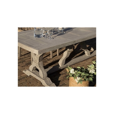 Table de Jardin LINLEY OUTDOOR  L 260 cm x P 100 x H 79 cm
