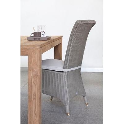 Chaise en LLoyd Loom EMILIE H 100 cm (12 coloris au choix)
