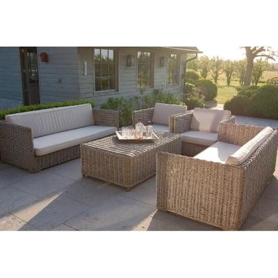 Sofa De Jardin DUNES Avec Coussins L 190 cm