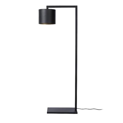 Lampadaire JOHANNESBURG Noir Intérieur Doré H 141 cm