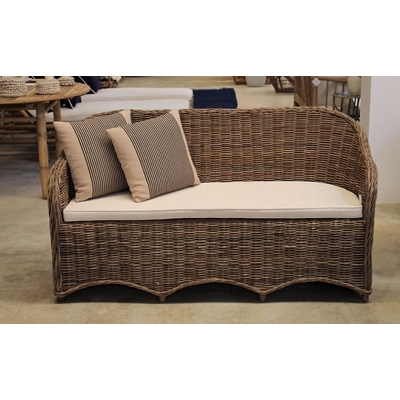 Sofa MONDO En Rotin L 165 cm