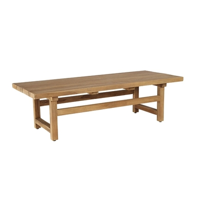 Table Basse JULIAN en TECK  L 140 cm (Teck Extérieur)