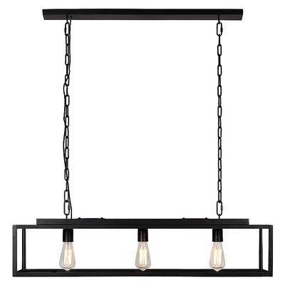 Suspension Métal Noir MANOIR L 100 cm