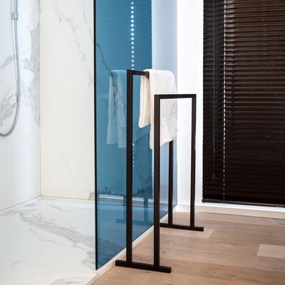 Porte-Serviette DANAU Noir L 60 cm