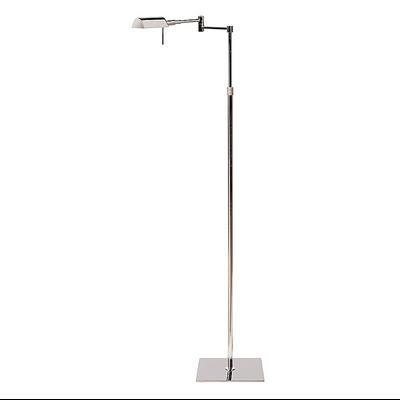 Lampadaire DEAN en Nickel Hauteur Réglable 90 à 145 cm