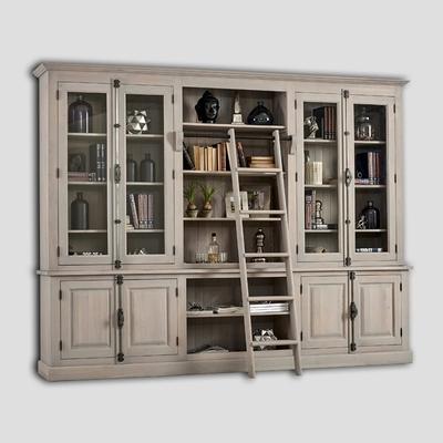 Vaisselier-Bibliothèque PROVENCE L 300 cm