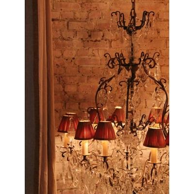 Lustre MADRID 12 Lumières Ø 80 cm - H 130 cm