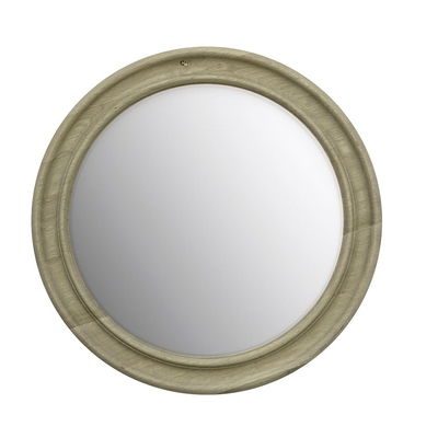 Miroir DUNBAR Chêne Oxydé Ø 60 cm
