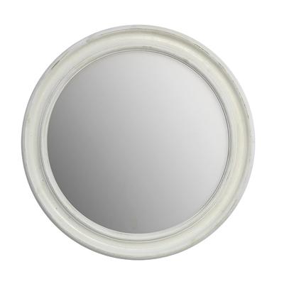 Miroir DUNBAR Blanc Vieilli Ø 60 cm