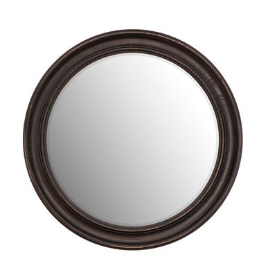 Miroir DUNBAR Noir Vieilli Rond Ø 60 cm