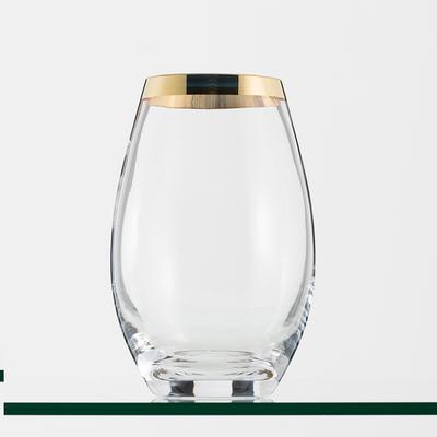 Vase PYKA Bord Doré H 26 cm