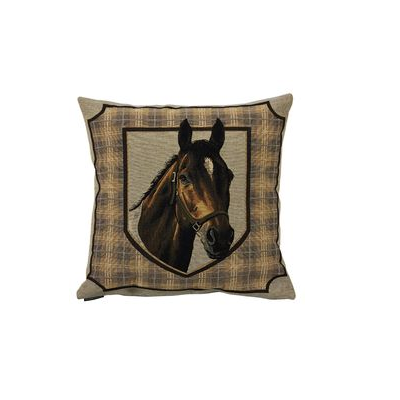 Coussin Cheval 45x45 cm