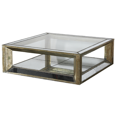 Table Basse MITCHELL Square FLAMANT 122X122X40 CM