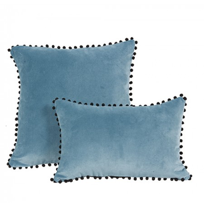 Coussin Bleu Turquoise FRANDOLE