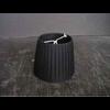 abat_jour_plissé_noir_tilly_flamant