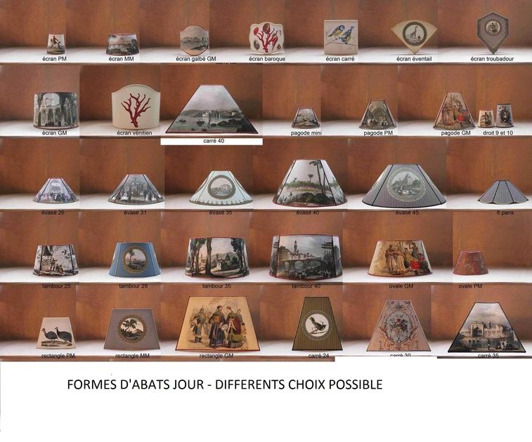 Différentes formes dabat-jour- gravure-ancienne 2014-1 - Copie