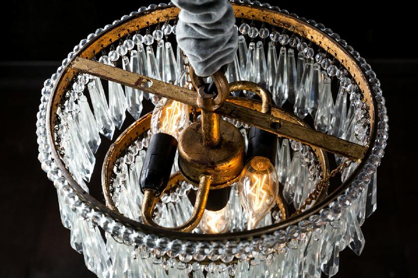 lustre_bronze_verre_villa_et_demeure