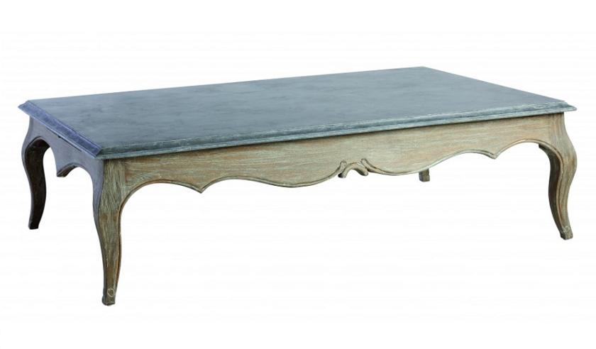 Table Basse Louis Xv Pierre Bleue