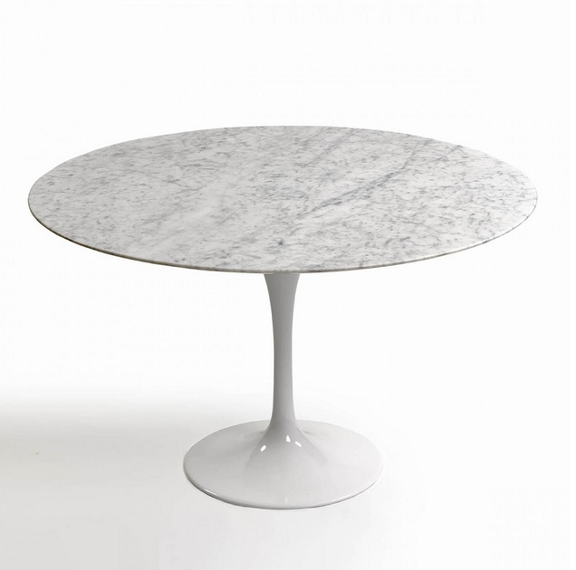 table_ronde_marbre_pied_blanc