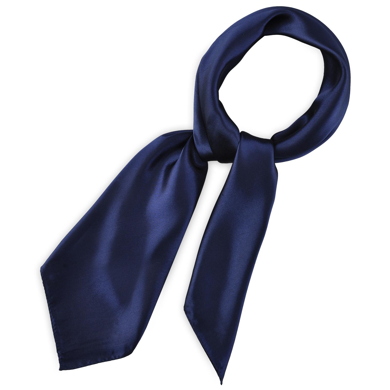 Royaume-Uni promotion spéciale style unique Foulard Carré Bleu Marine Gala