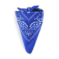 Bandana Bleu Saphir