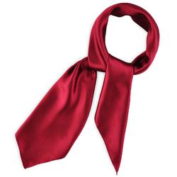 Foulard Carré Rouge Cerise Gala